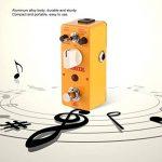 AROMA AAS-5 simulateur de guitare acoustique pédale d'effet 3 modes corps en alliage d'aluminium avec parties de Bypass True Guitar & Accessories - Jaune de la marque Oyamihin image 2 produit