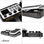 Asmuse MG-100 Multi Effets Pédale Guitare Processeur de Musique Pièces 40s Enregistrement 58 Types de Tambours 55 Effet Mode 10 Son Di Boîte Guitare Électrique Boucle Tube Pédale (EU Plug) de la marque Asmuse image 3 produit