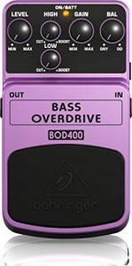 Behringer BASS OVERDRIVE / BOD400 Pédale d'overdrive Pour basses (Import Royaume Uni) de la marque Behringer image 0 produit