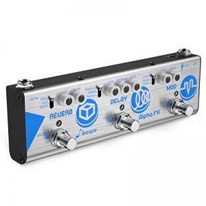 Donner Pédale Multi Effets pour Guitare - Modulation, Delay, Reverb - Alpha FX de la marque Donner image 0 produit