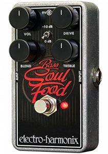 Electro Harmonix 665196 Effet de Basse électrique avec Synthétiseur filtre Bass Soul Food de la marque electro-harmonix image 0 produit