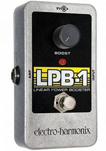 Electro Harmonix LPB-1 Power Booster Pédale pour Guitare électrique Argent de la marque electro-harmonix image 0 produit