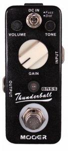 Mooer Thunderball Pédale Fuzz/Overdrive pour Basse électrique de la marque MOOER image 0 produit