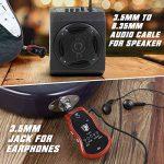 TONOR Amplificateur Casque Guitare Électrique Ampli Rechargeable par Câble USB, Câble Audio de Haut-parleur de 3,5mm vers 6,5 mm, avec 5 Effets de Guitare Intégrés REV/CHOR/FLAG/OVDR/WAH de la marque TONOR image 2 produit