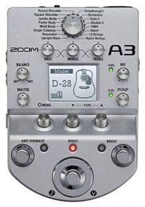 Zoom A3 DI Box multi-effets Pédale de simulation à modélisation pour Guitare acoustique de la marque Zoom image 0 produit