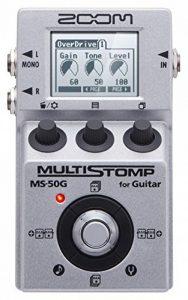Zoom MS-50G Pédale multi-effets pour Guitare de la marque Zoom image 0 produit